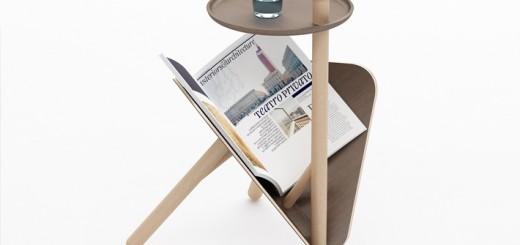 Creative-magazine-rack-and-table