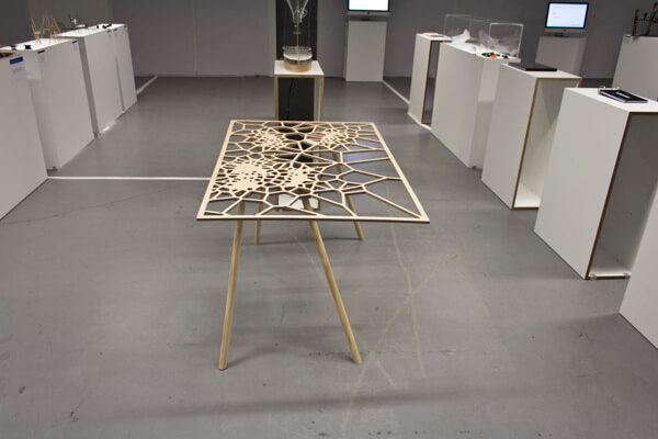 Creative table by Sam Stringleman 01 Original Table Design Displaying a Captivating Pattern