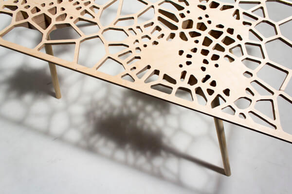 Creative table by Sam Stringleman 02 Original Table Design Displaying a Captivating Pattern