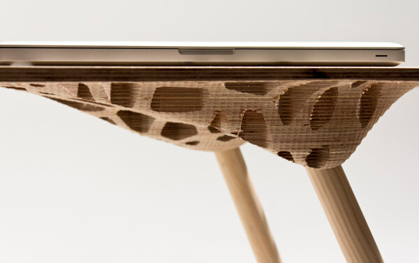 Creative table by Sam Stringleman 03 Original Table Design Displaying a Captivating Pattern