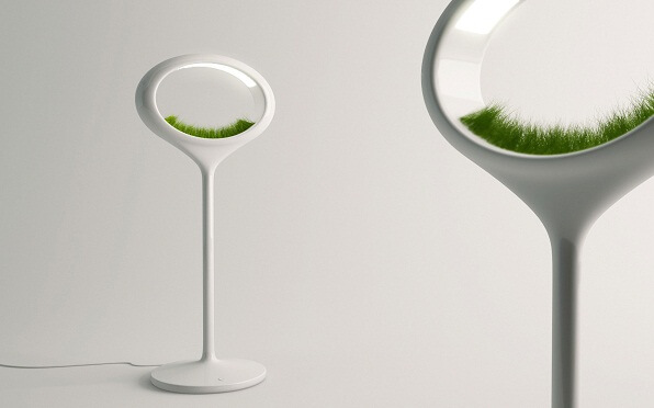 Futurist lamp concept Innovative Lighting Concept: Grass Lamp by Marko Vuckovic