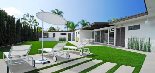 Garden-design-with- rectangular-pavers