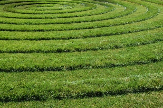 Garden design with spirals pattern Enhance the Aspect of Your Outdoor Space: Artful Garden Designs
