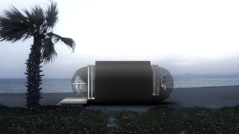 Microarchitecture removable hotel exterior design How to Be Environmentally Friendly When Travelling