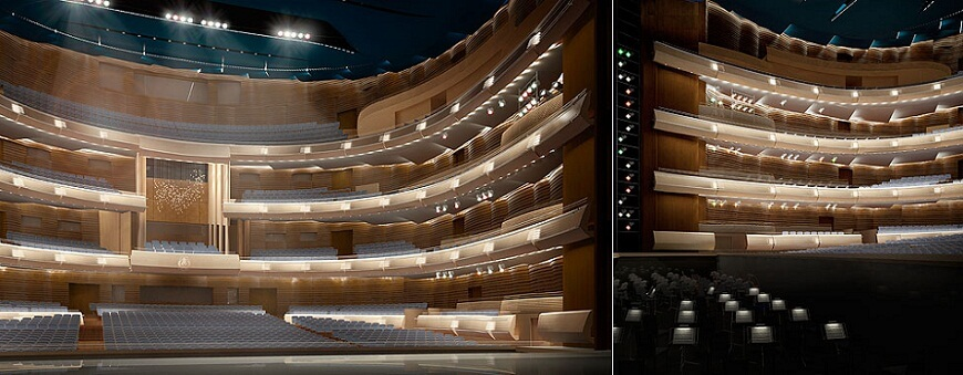 New opera house in St. Peterburg 021 New Mariinsky Theatre Opens in 2013 in St.Petersburg, Russia