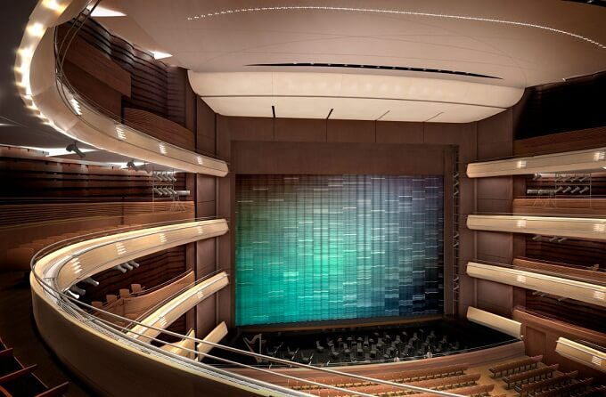 New opera house in St. Peterburg1 New Mariinsky Theatre Opens in 2013 in St.Petersburg, Russia