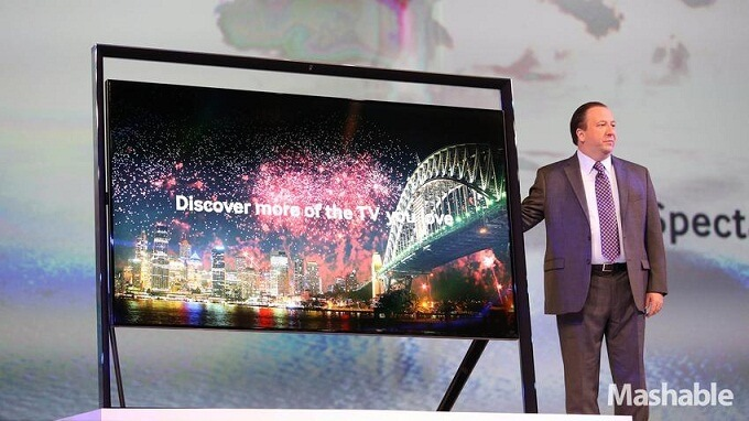 New Samsung 4K TV Unveiled at CES 2013