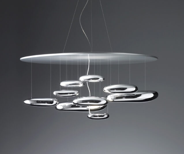 Futuristic designer lighting mercury interior design for Designer lighting