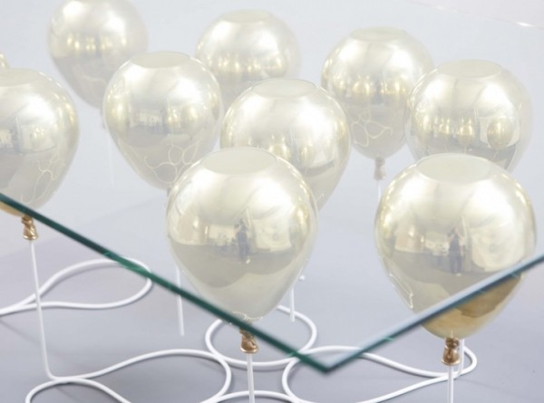 balloons table 600x445 Futuristic Coffee Table by Christopher Duffy