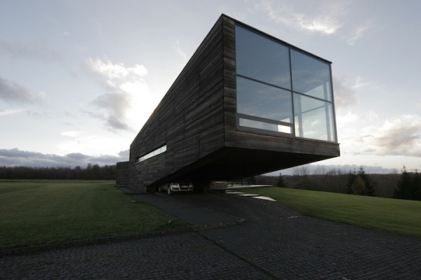 box house 600x400 Lithuanian architecture and interior design by Natkevicius & Partners