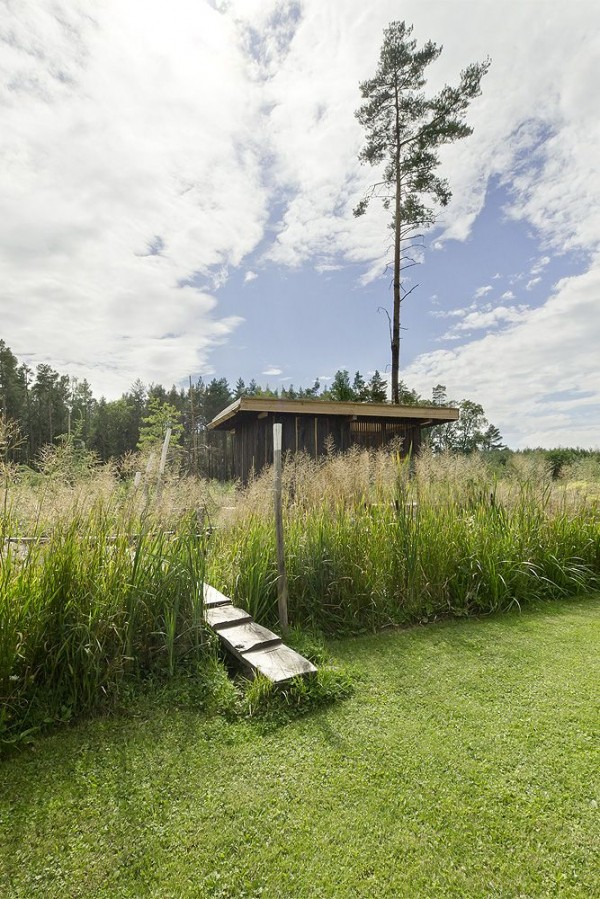 green landscape 600x899 Amazing Tea house architecture  by  A1 Architects