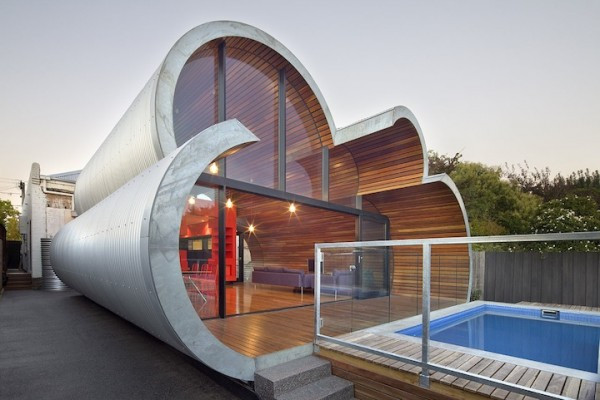 house 600x400 Cloud house architecture by McBride Charles Ryans