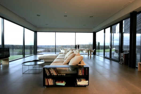 living room 600x400 Lithuanian architecture and interior design by Natkevicius & Partners