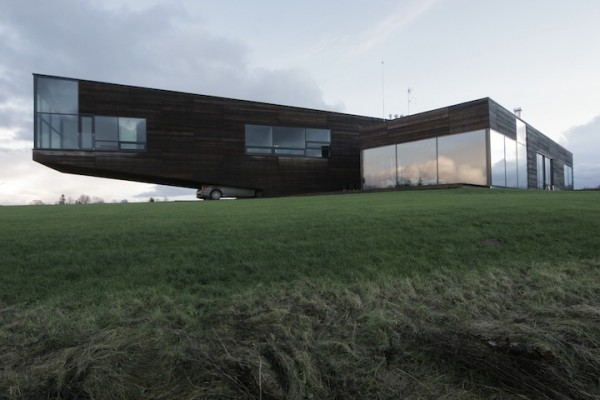 unusual house 600x400 Lithuanian architecture and interior design by Natkevicius & Partners