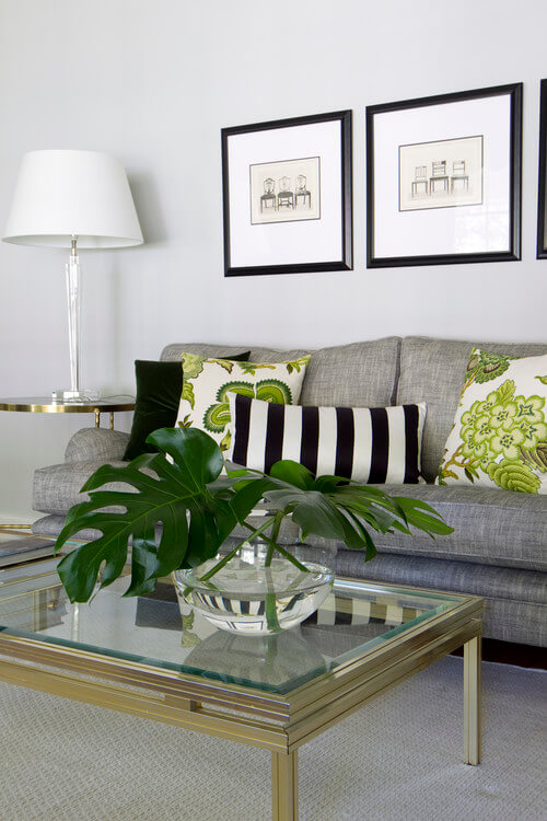 Accent pillows Decorating Ideas for Living Rooms