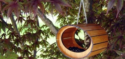 Bamboo-birdhouse