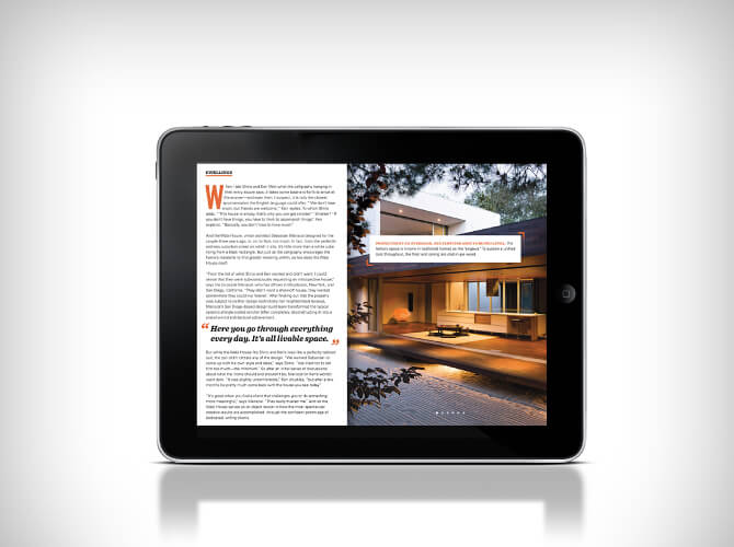 Dwell figital magazine for iPad Home Decor Magazines to Read on Your Tablet