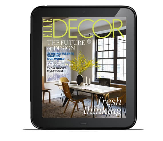 Elle Decor Magazine tablet version Home Decor Magazines to Read on Your Tablet