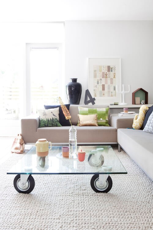 Glass coffee table 3 Must Have Home Furnishing Trends for 2013