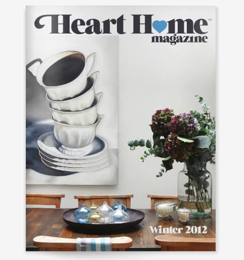 HeartHome digital magazine Home Decor Magazines to Read on Your Tablet