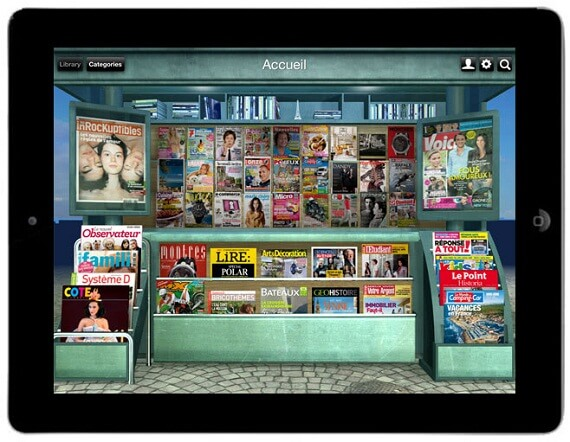 Lekiosk newsstand for tablets Home Decor Magazines to Read on Your Tablet