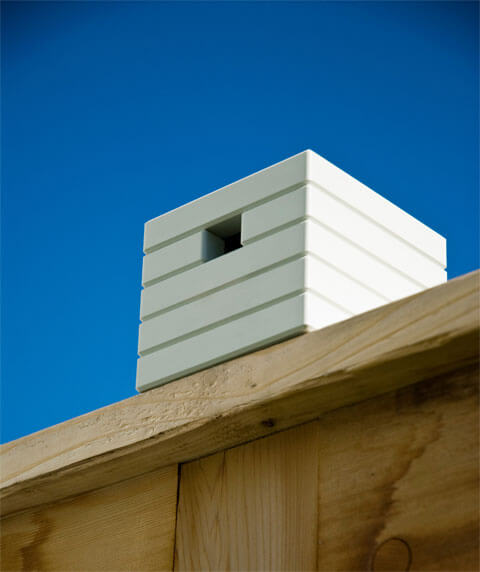 Minimalist irdhouse cube 10 Birdhouses to Decorate Your Outdoor Space this Spring