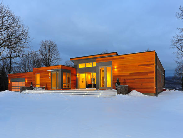 Modern and Green Single Family Residence Breezehouse in New York