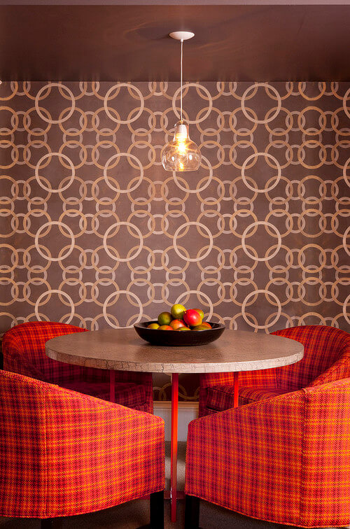 Retro pattern wallpaper 3 Must Have Home Furnishing Trends for 2013
