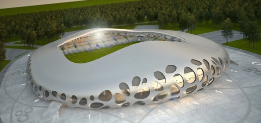 Stadium-metal-structure