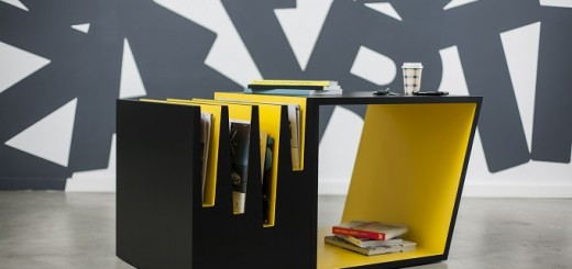 Blac-and-yellow-table