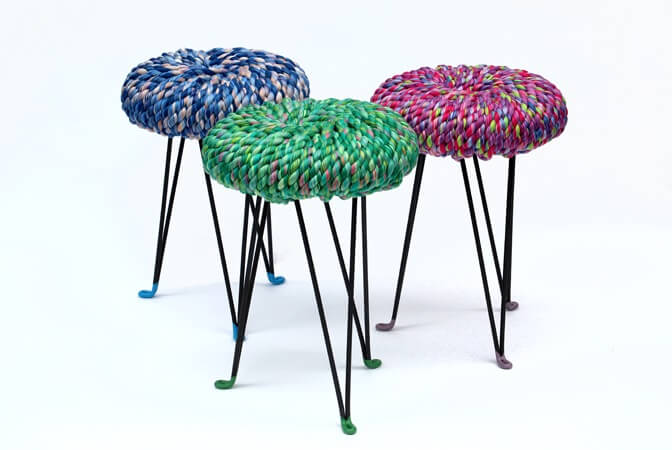 Colorful Surrounded Stools1 6 Modern and Creative Stool Designs