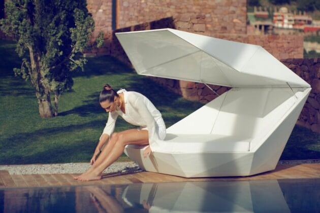 Elegant relaxation platform 01 New Vondom Furniture for Outdoor  Versatile Faz Daybed by Ramon Esteve