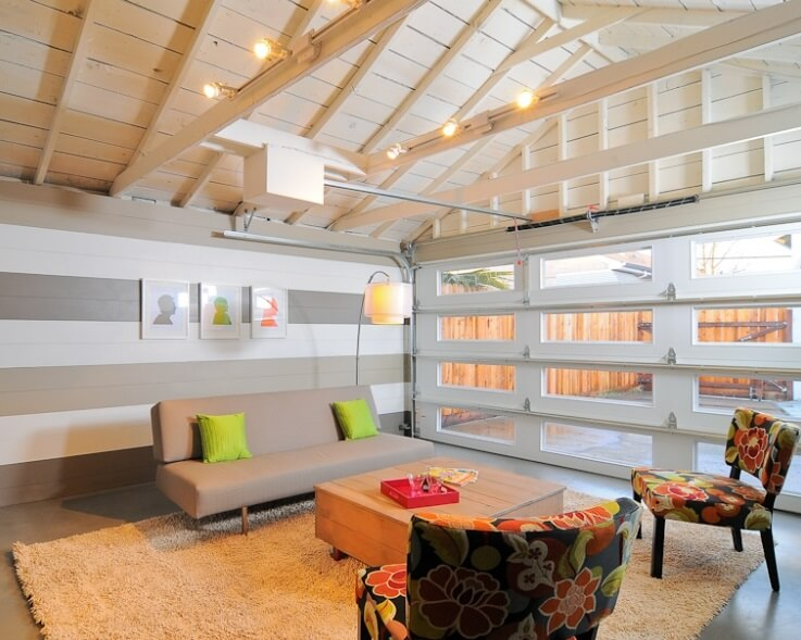 Low Budget Garage Makeover By Kerrie Kelly Design Lab