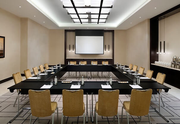Meeting room Majilis Stunning JW Marriott Marquis Hotel Dubai  The Worlds Tallest Hotel