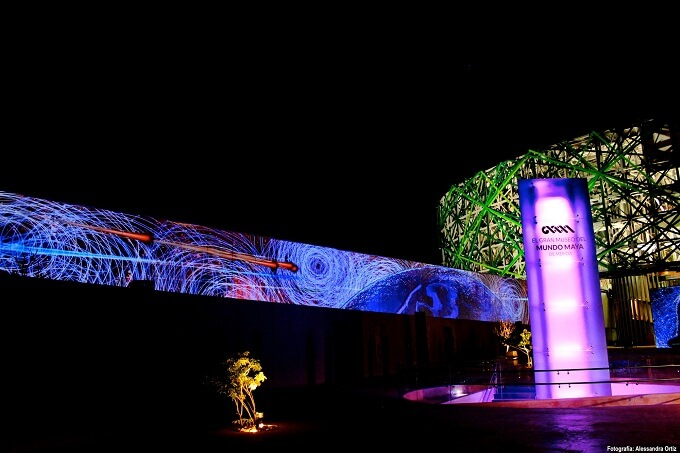 Multimedia show Great Maya World Museum of Mérida in Mexico