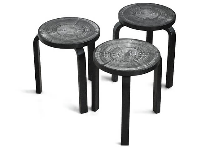 Rings stool by Nao Tamura 6 Modern and Creative Stool Designs