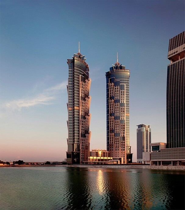 Ultimate luxurious destination Dubai Stunning JW Marriott Marquis Hotel Dubai  The Worlds Tallest Hotel