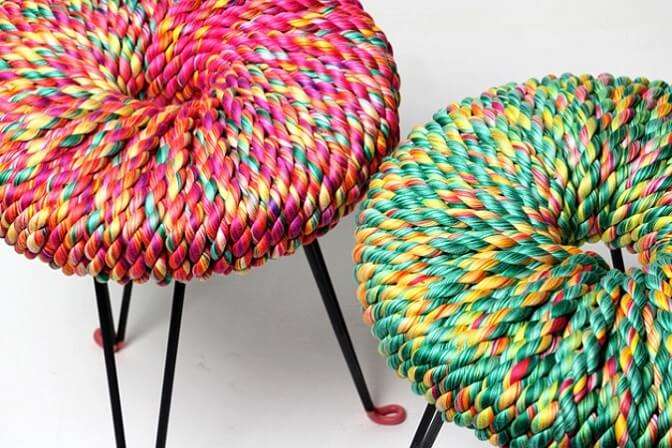 Vibrant Surrounded stools 6 Modern and Creative Stool Designs