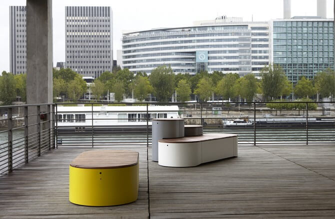 Modern urban islands for public spaces by dan yeffet and lucie koldova interior design design Urban home furniture online