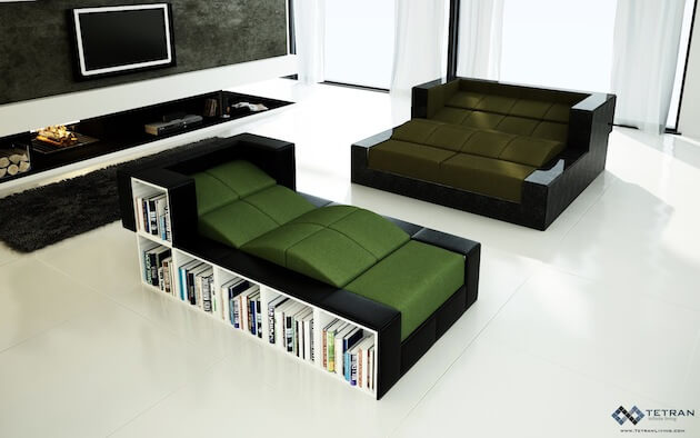 Limitless Designs With The Latest Modular Furniture Concept From Tetran Interior Design Design News And Architecture Trends