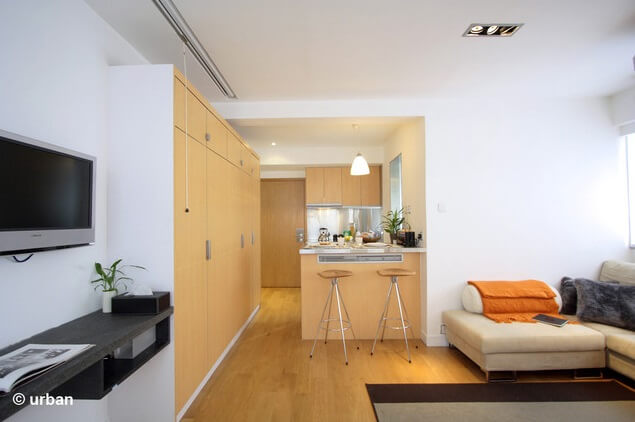 Small 450 Square Feet Apartment Design In Hong Kong Interior Design Design News And