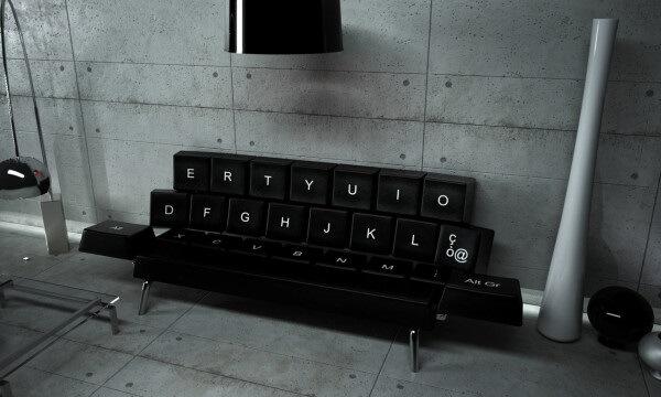 Keyboard-sofa-design