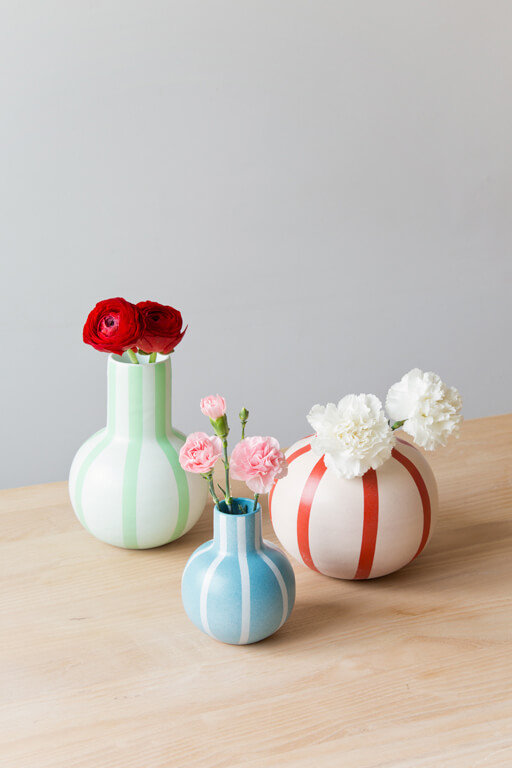 Nature inspired vases
