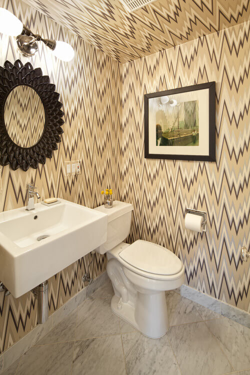Wall mounted sinks for small bathrooms interior design - Small powder room sink ...