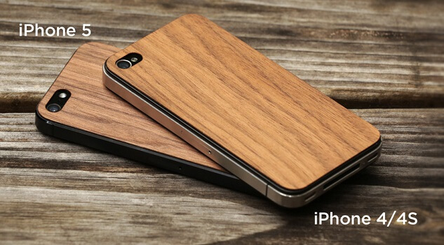 Original Wooden Covers to Personalize and Protect your iPhone