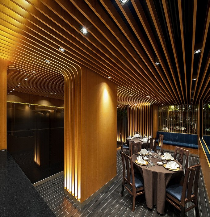 Vip dining experience at pak loh restaurant in hong kong for Vip room interior design