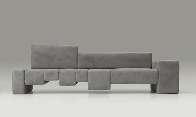 Unconventional and surprising sofa design  the fifth avenue by ...