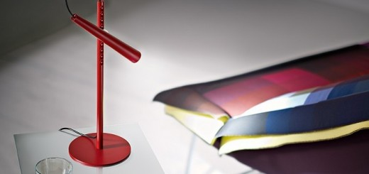 Red-table-lamp