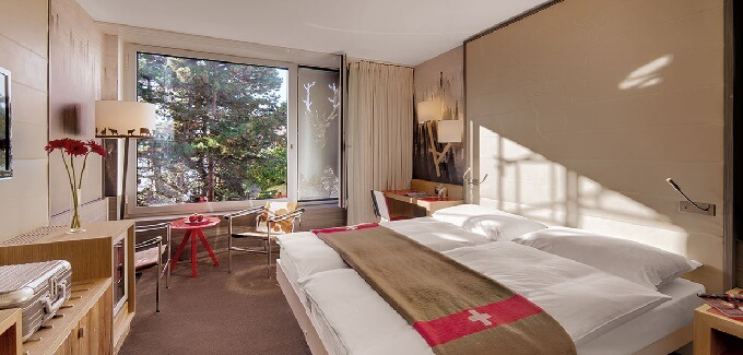 Rooms contemporary design New Contemporary Look for Agora Swiss Night Hotel