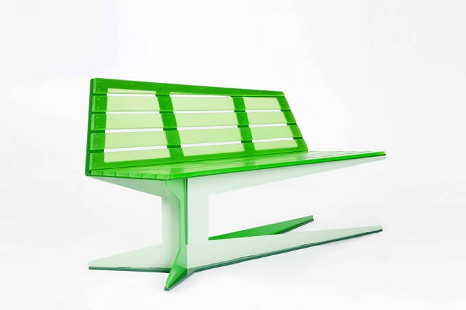 Unique Bench Design by Studio Nic Roex